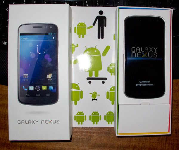 Noticia Unboxing Galaxy Nexus