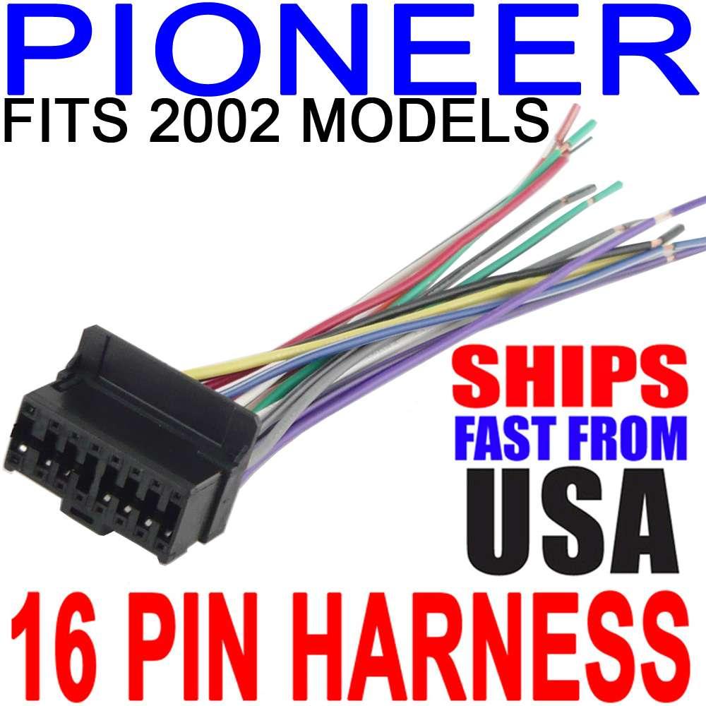 pioneer radio deh p6700mp wiring diagram pioneer deh