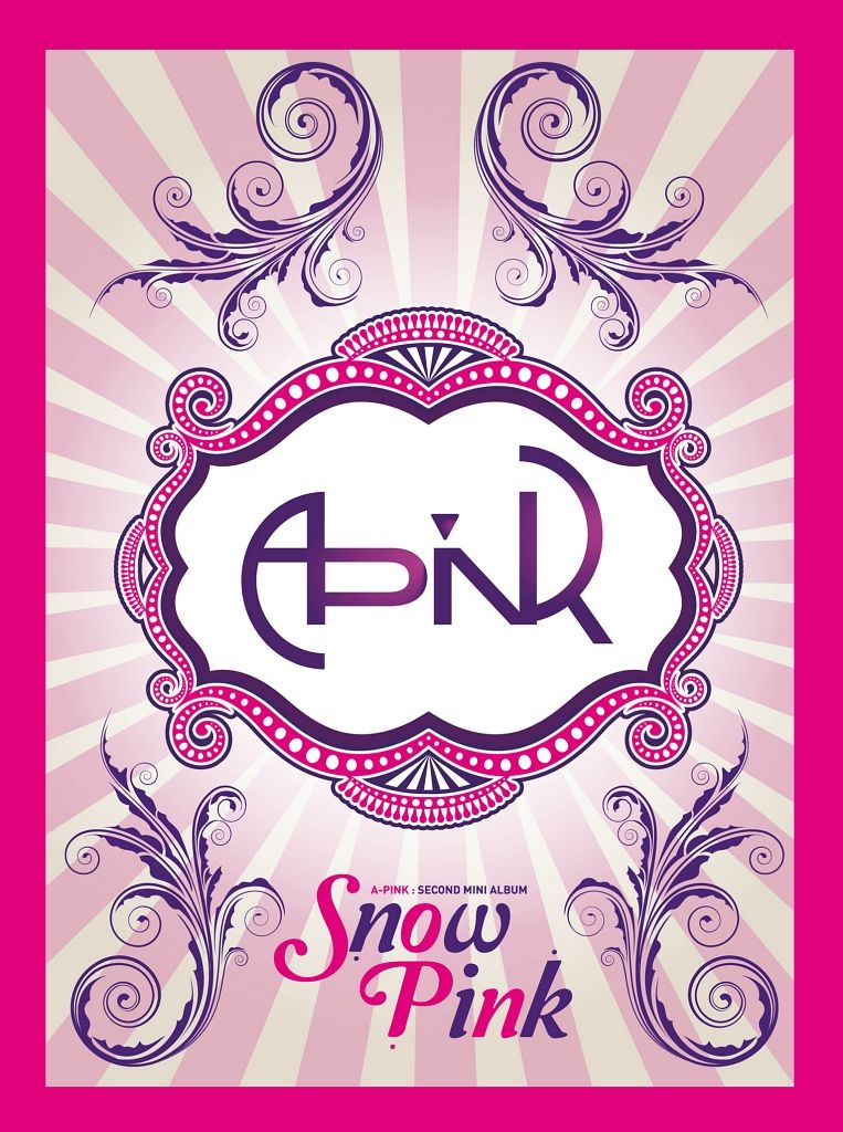 A Pink - Snow Pink (2nd Mini Album) cover