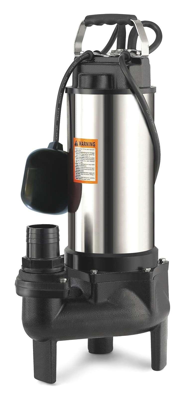 pompe eau vide cave roue vortex immerg e 1500w 31 m3 h ebay. Black Bedroom Furniture Sets. Home Design Ideas